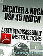 Heckler & Koch USP 45 Match Montage- / Demontageanleitung Download