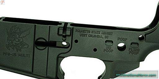 AR-15 Lower im Brilliant-Gremlins-Design vom Kundengeschrei